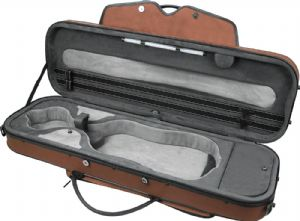Pedi Case Violin Brown  9100BR